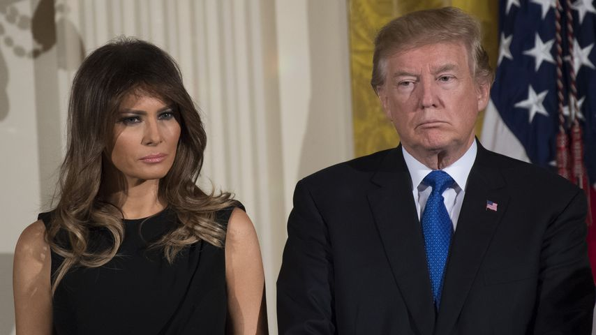 Melania und Donald Trump im Dezember 2017
