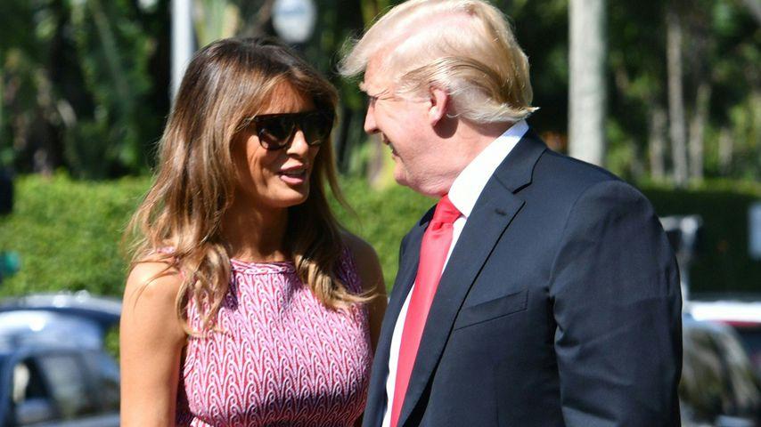 Melania und Donald Trump an Ostern 2018