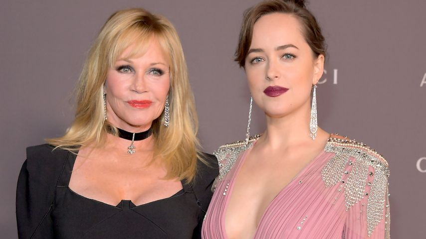 Melanie Griffith und Dakota Johnson