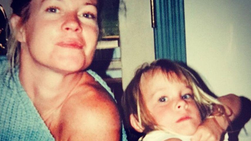 Schnappschuss mit Mama: Dakota Johnson als Kind