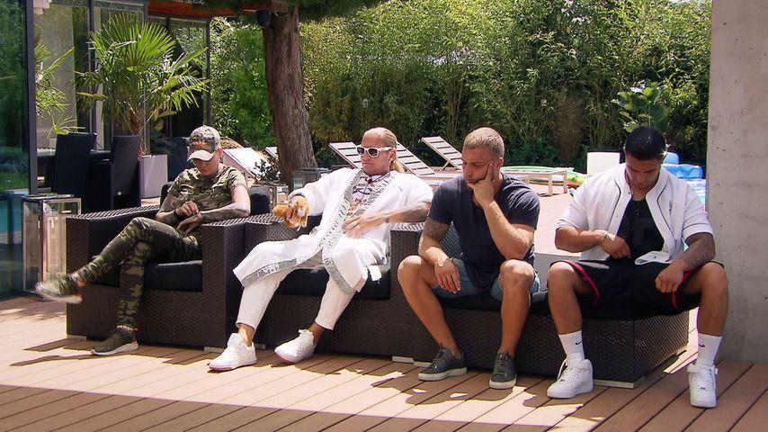 "Melanie Müller, Don Francis, Filip Pavlovic und Alex Molz bei ""Like Me – I'm Famous"""