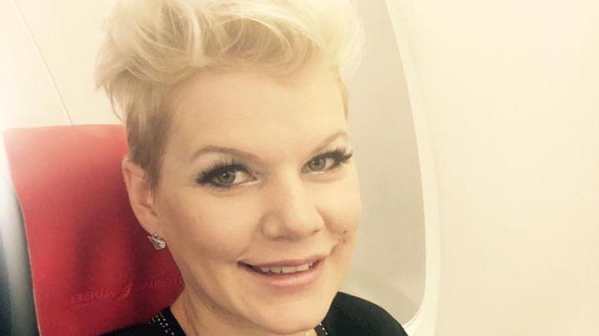 Melanie Müller auf dem Weg nach Monaco