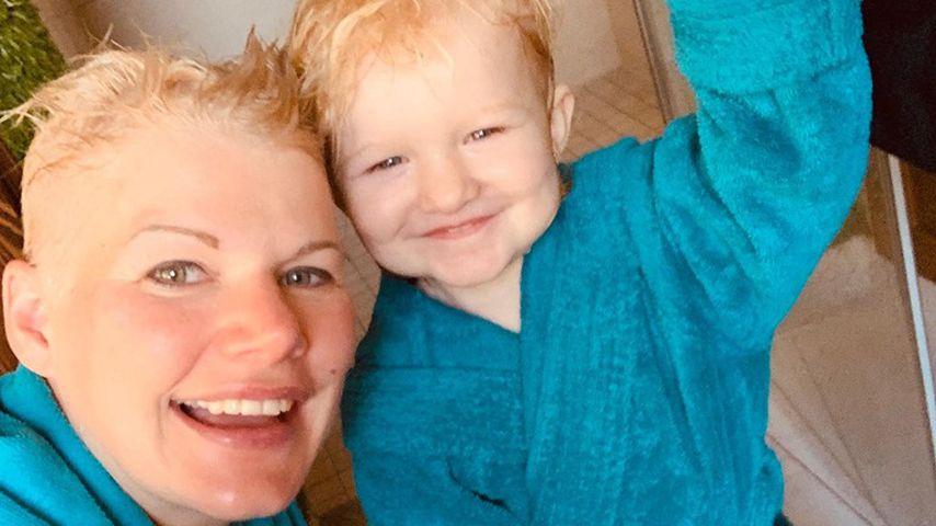Melanie Müller und ihre Tochter Mia Rose