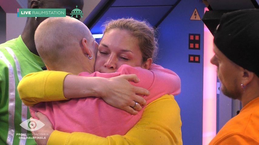 """Melanie Müller und Marie Lange bei """"Promi Big Brother"""""""
