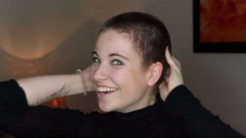 Mutig: Melina Sophie rasiert ihre langen Haare einfach ab!