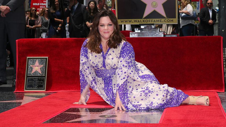 Melissa McCarthy an ihrem Walk of Fame-Stern in Hollywood, 2015