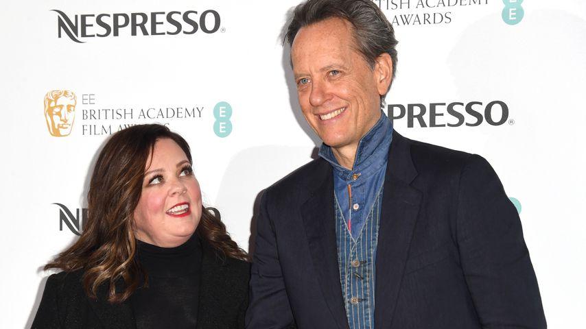 Melissa McCarthy und Richard E. Grant auf einem Event in London