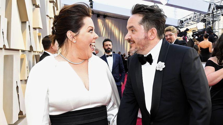 Melissa McCarthy und Ben Falcone in Hollywood, Februar 2019