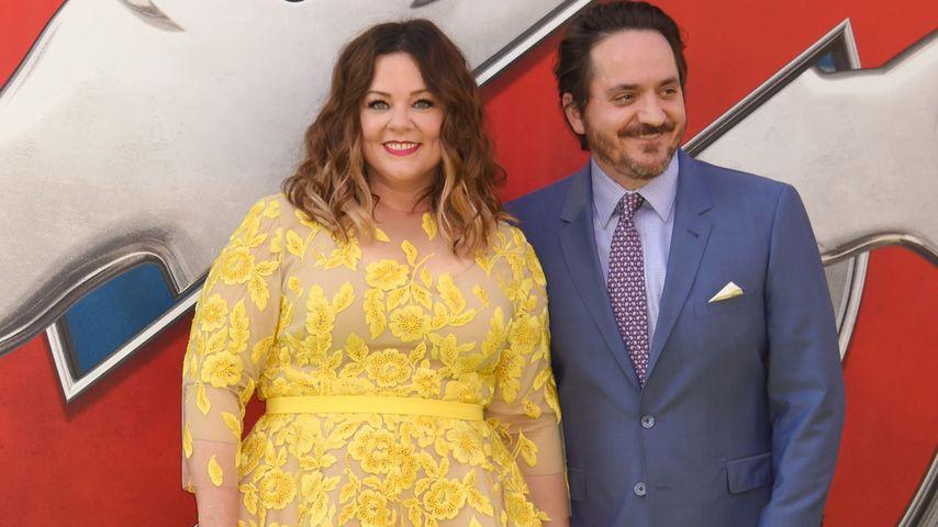 """Melissa McCarthy und ihr Mann Ben Falcone bei der Premiere von """"Ghostbusters"""" in Hollywood"""