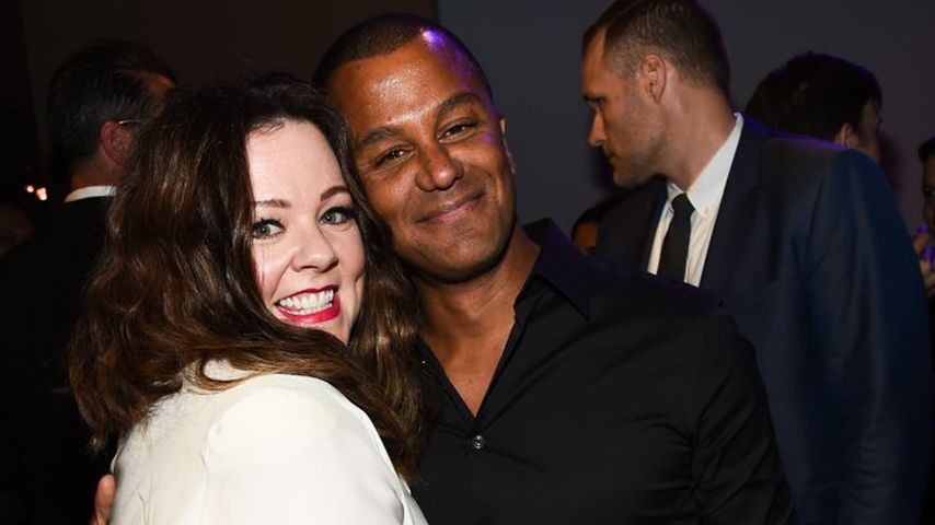 "Melissa McCarthy und Yanic Truesdale bei der ""The Boss""-Premiere in Los Angeles"