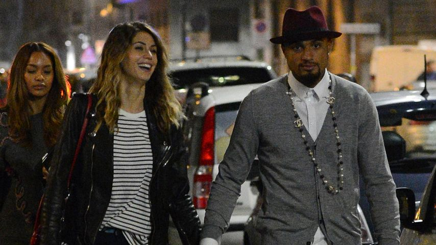 Kevin P. Boateng & Melissa: So verliebt in Mailand