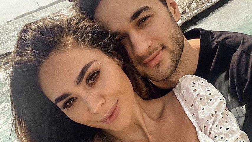 Melissa und Leander im März 2021