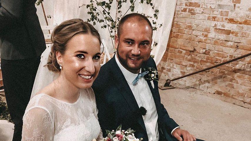 """Melissa und Philipp bei ihrer """"Hochzeit auf den ersten Blick"""", 2019"""
