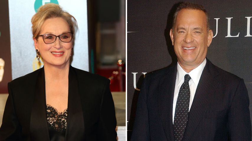 Endlich! Meryl Streep & Tom Hanks drehen 1. Film zusammen