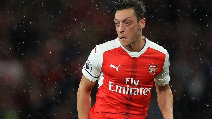 Mesut Özil beim Premier-League-Match zwischen Arsenal und Sunderland