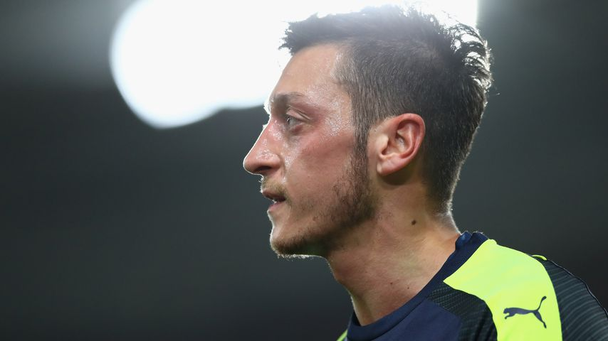 Mesut Özil bei einem Spiel zwischen Arsenal und Southampton