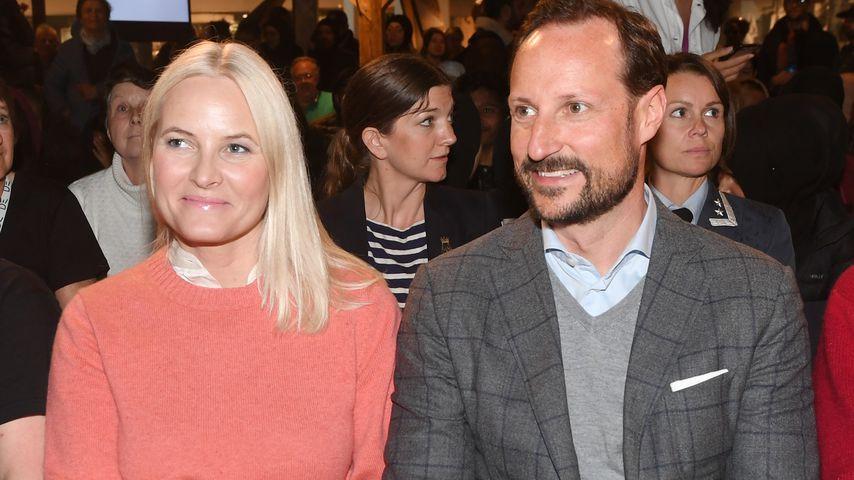 Mette-Marit und Kronprinz Haakon im Mai 2019 in Oslo