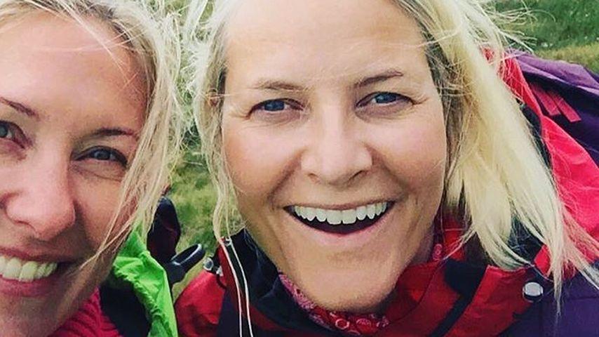 Ungeschminkt! Mette-Marit von Norwegen ist eine Natur-Beauty
