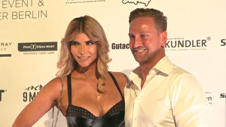 Micaela Schäfer und ihr Freund Adriano Hess