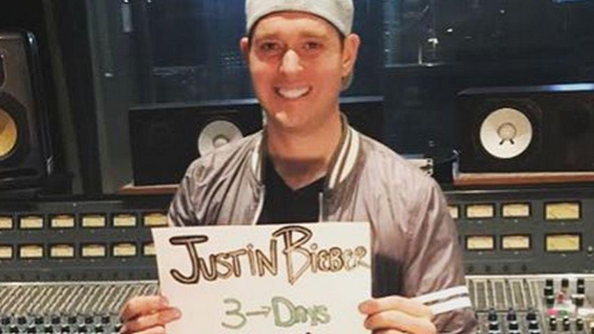 Justin Bieber und Michael Bublé