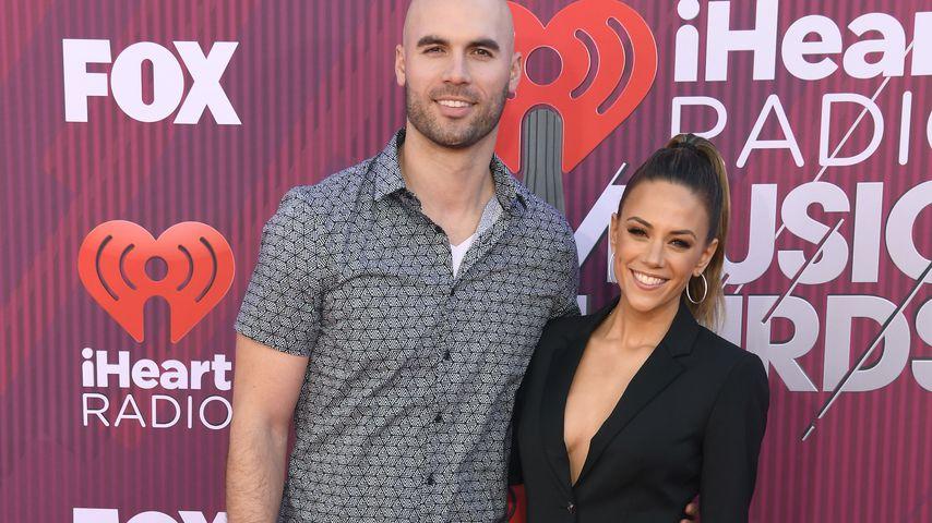 Michael Caussin und Jana Kramer bei den iHeartRadio Awards 2019