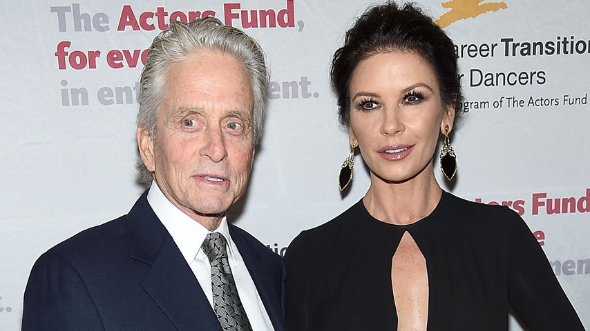 Michael Douglas und Catherine Zeta-Jones bei einer Gala in New York