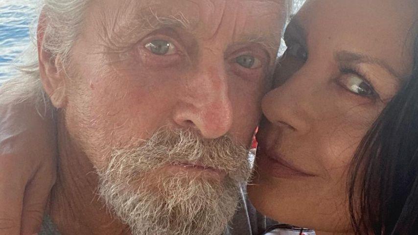 Michael Douglas und Catherine Zeta-Jones im Juli 2021