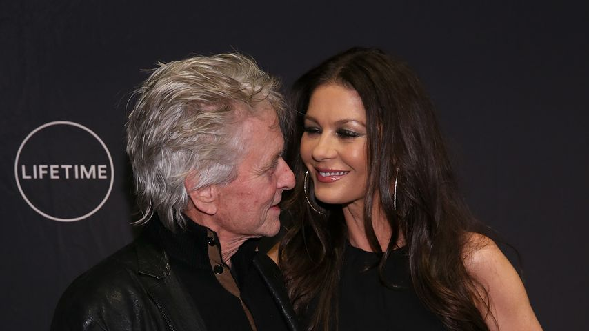 Michael Douglas und Catherine Zeta-Jones, Hollywood-Stars