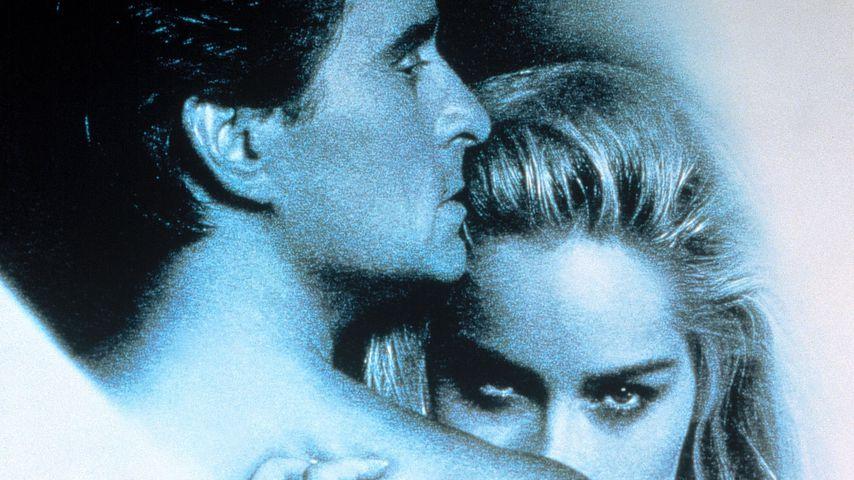 """Michael Douglas und Sharon Stone in """"Basic Instinct"""", 1992"""