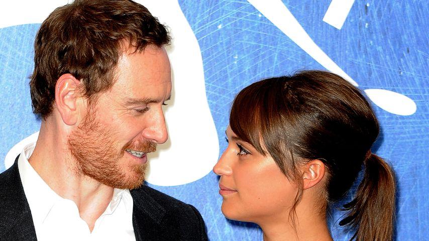 Süßes Paar! Michael Fassbender & Alicia verliebt in Venedig