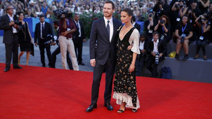 Michael Fassbender & Alicia Vikander bei den 73. Filmfestspielen in Venedig