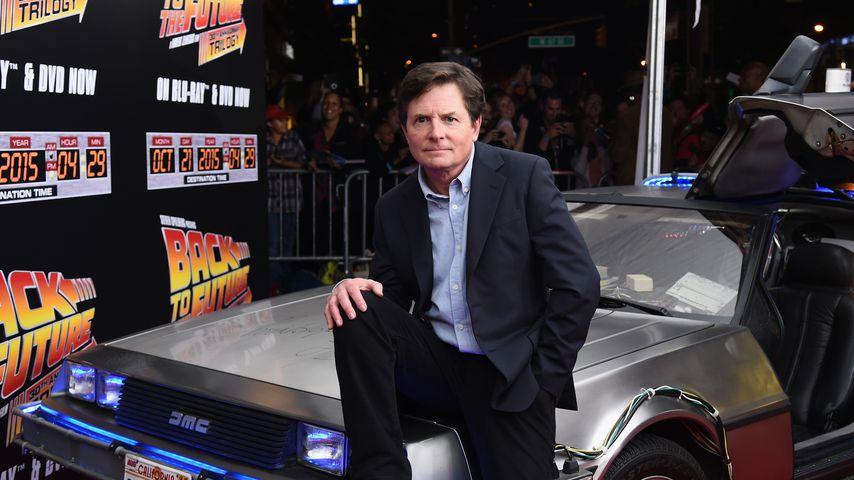 """Michael J. Fox, Schauspieler in """"Zurück in die Zukunft"""""""
