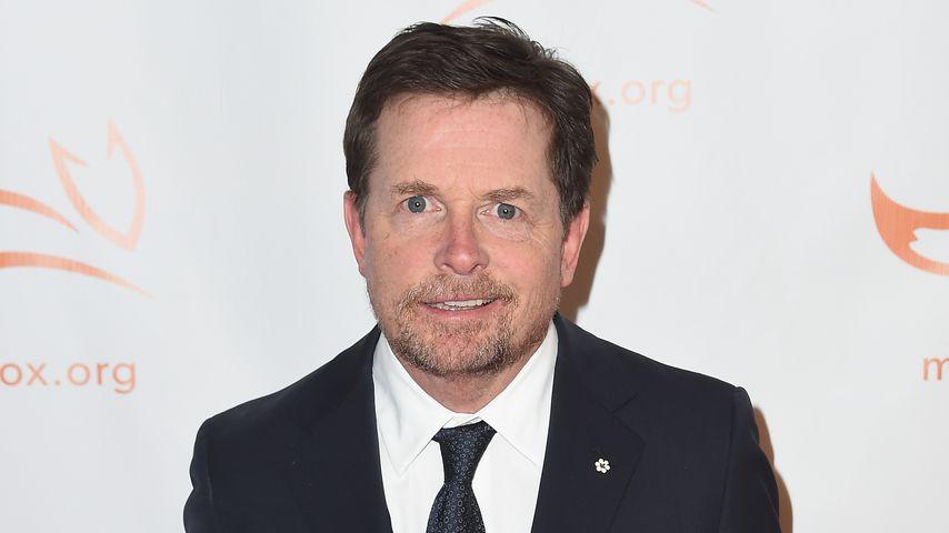 Michael J. Fox auf dem Red Carpet