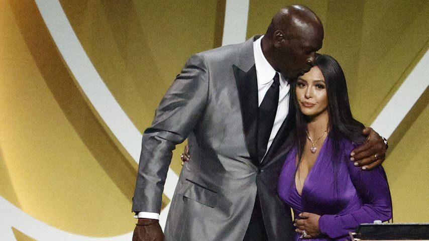 Michael Jordan und Vanessa Bryant