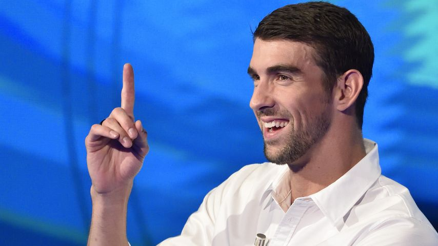 Michael Phelps in Mailand