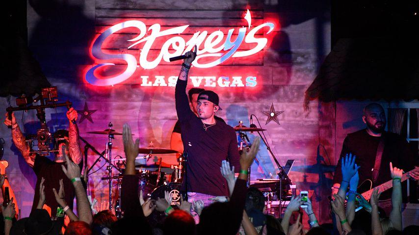 Michael Ray bei einem Konzert in Las Vegas