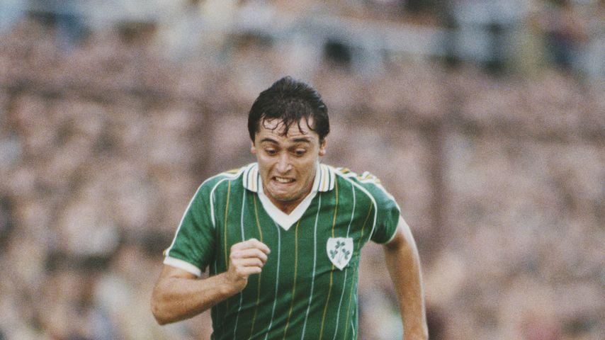Michael Robinson bei der WM-Qualifikation 1984