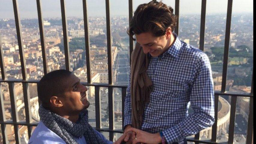 Michael Sam & Vito feierten Verlobung im Vatikan