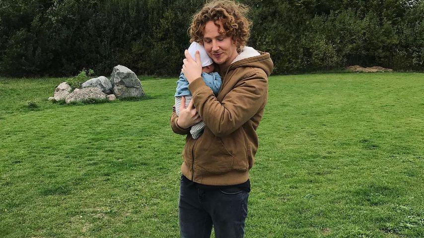 Papa-Sohn-Duo: Michael Schulte macht kuscheligen Relax-Tag!