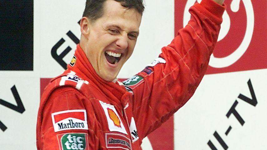 Michael Schumacher und Jean Todt in Suzuka 2000