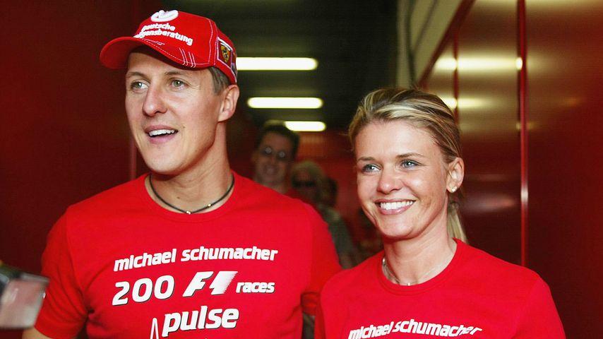 Michael und Corinna Schumacher im Mai 2004