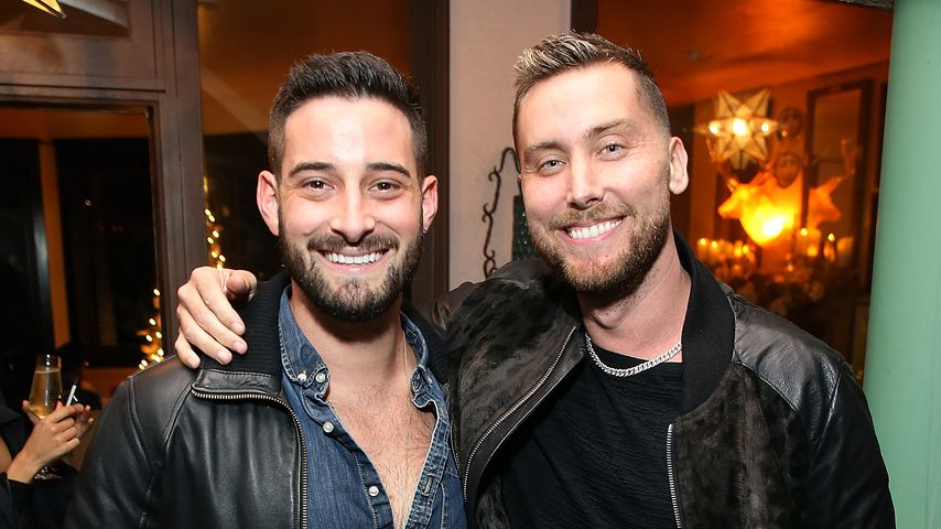Michael Turchin und Lance Bass in Los Angeles