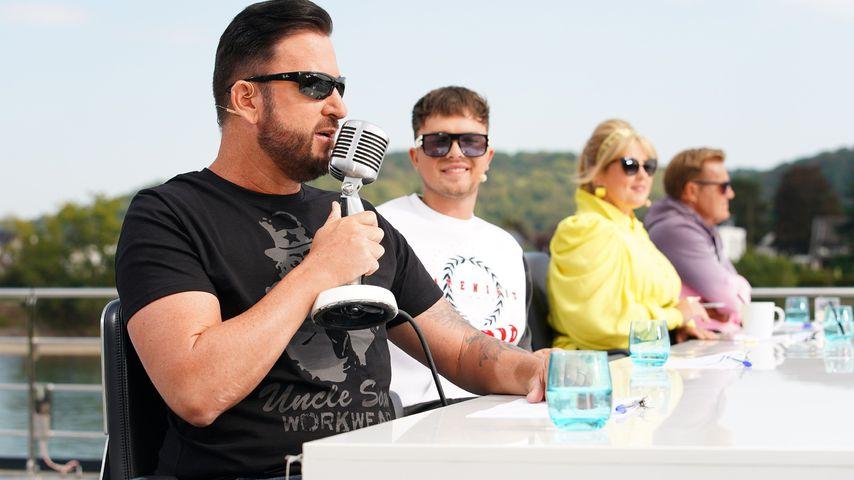 Michael Wendler, Mike Singer, Maite Kelly und Dieter Bohlen bei DSDS 2021
