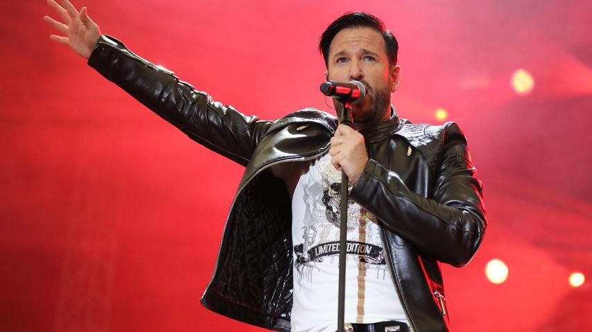 Michael Wendler bei einem Auftritt in Gelsenkirchen im Oktober 2019