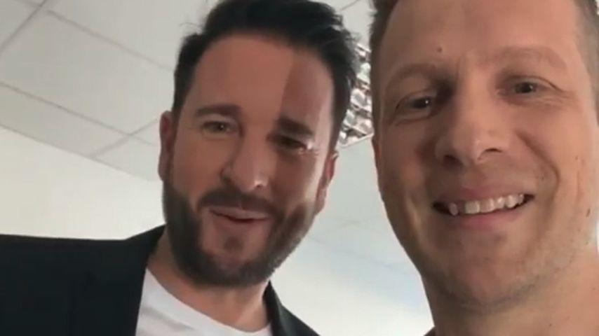 Michael Wendler und Oliver Pocher im Mai 2020