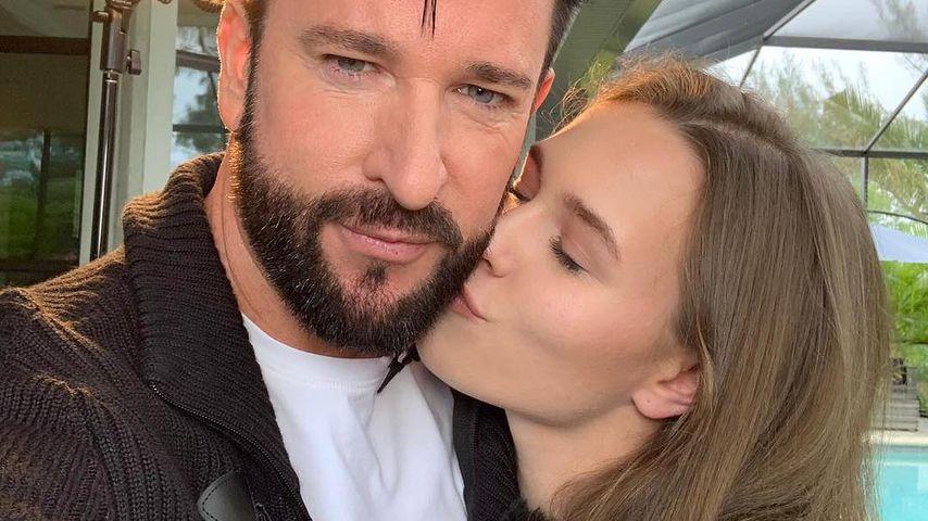 Michael Wendler und Laura M., Februar 2019