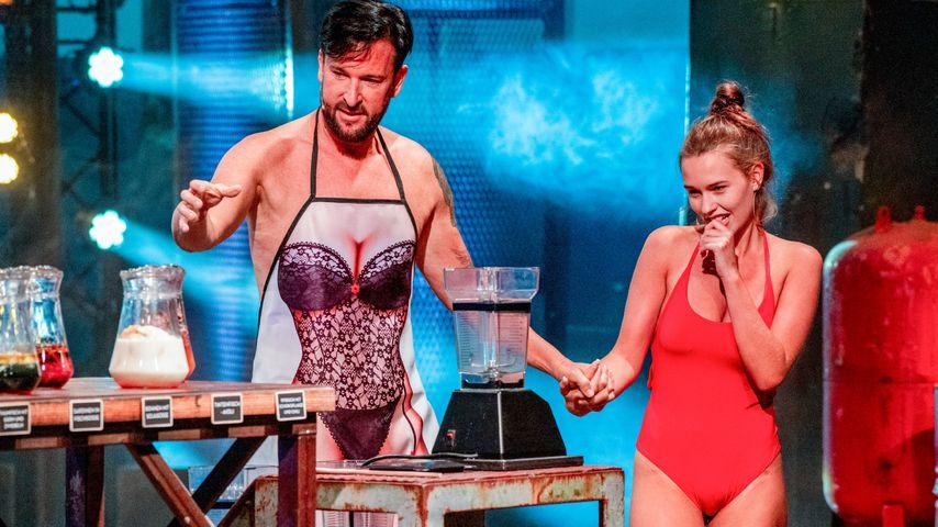 """Michael Wendler und Laura Müller im """"Sommerhaus der Stars"""""""