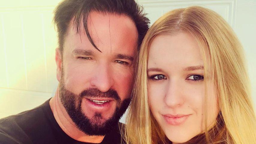Michael Wendler und seine Tochter Adeline Norberg, Dezember 2018