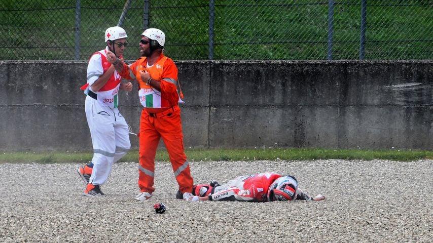 Bei Motorrad-WM: Pirro verliert Gedächtnis nach Horror-Crash