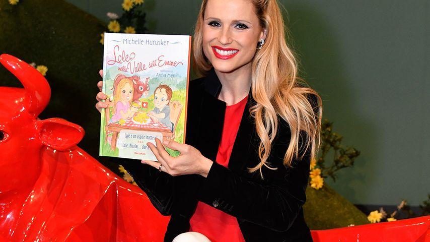 Stolz: Michelle Hunziker veröffentlicht ihr 1. Kinderbuch